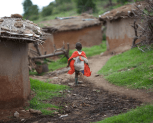 African Boy in Cape