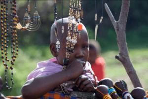 African Boy & Jewelry