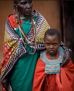 African Mom & Son